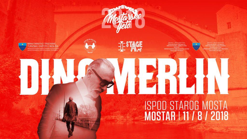 Prodaja karata za koncert Dine Merlina u Mostaru