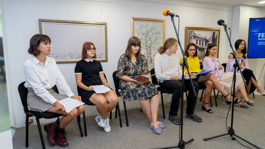 """Završen Festival dječije poezije """"Pjesnici Mostara"""""""