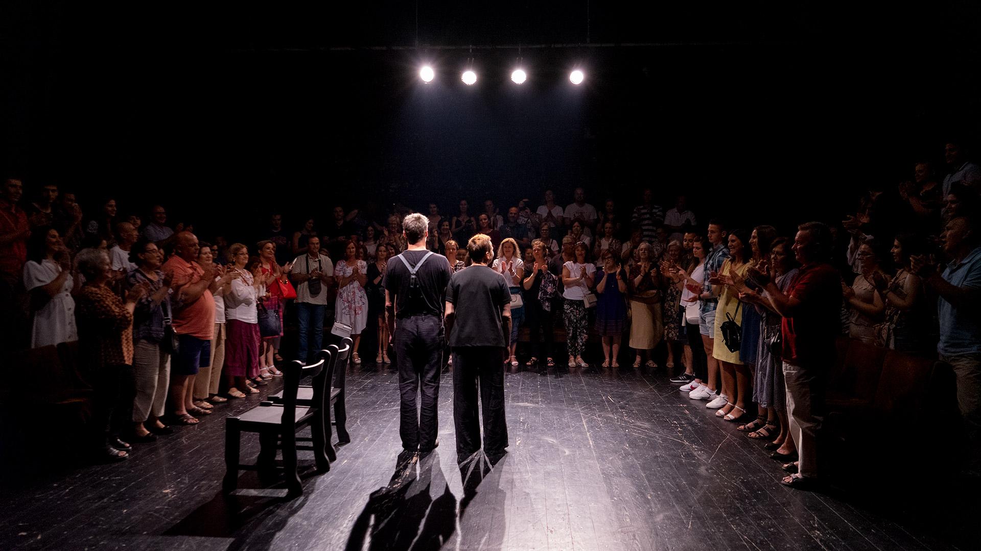"""""""Trg ratnika"""" u punoj sali Narodnog pozorišta Mostar"""