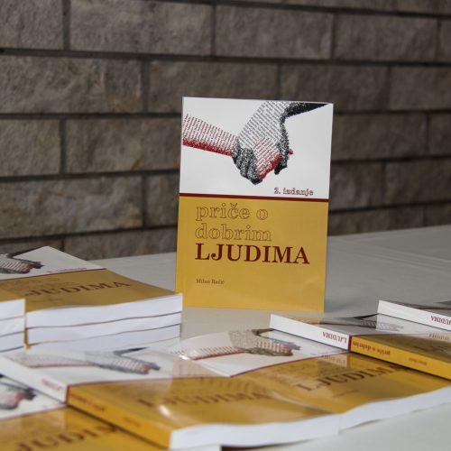 """Promovisano drugo dopunjeno izdanje knjige """"Priče o dobrim ljudima"""""""