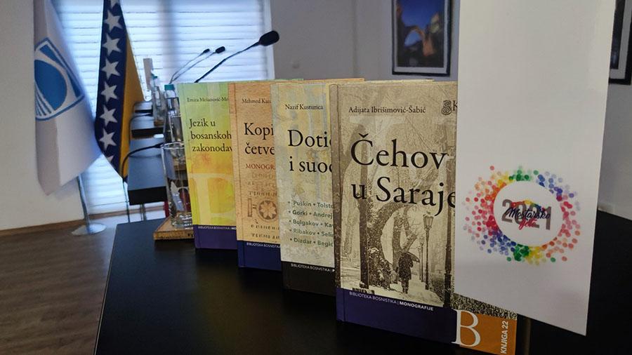 Promovisano šest knjiga iz književnosti i lingvistike Slavističkog komiteta u BiH