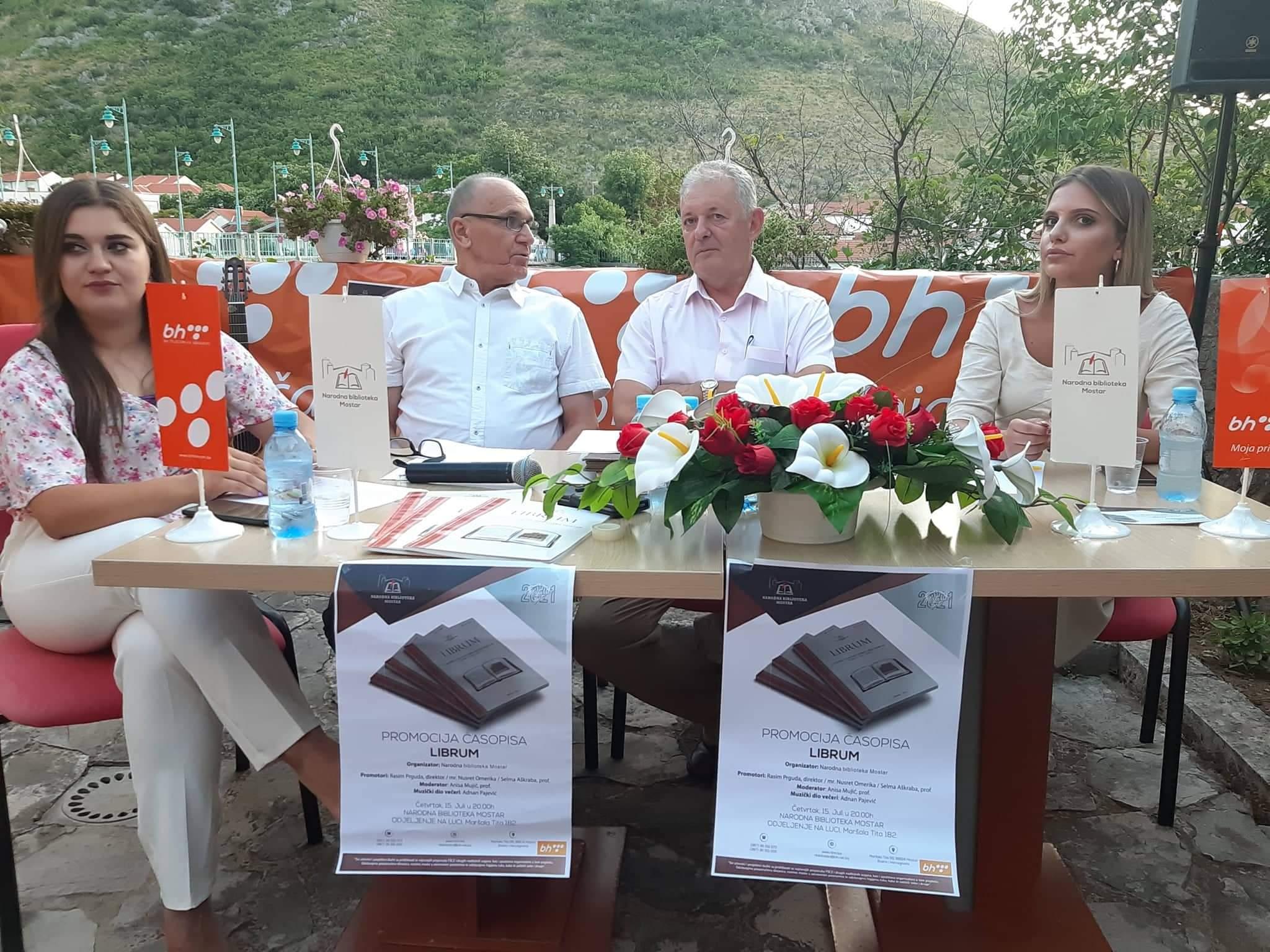 Promovisan časopis Librum Narodne biblioteke Mostar