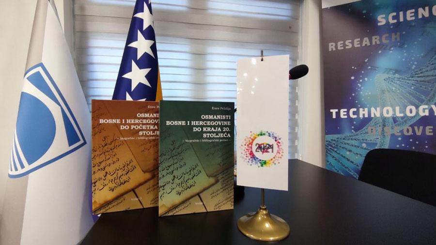 Promovisane dvije knjige o bh osmanistima Enesa Pelidije